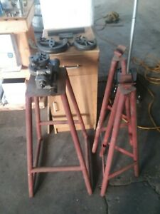 Parker 412 Tube Bender With Dies And Stands