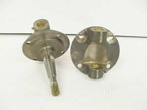 Super Bell 37 41 Ford Style Spindles With Bushings But No Kingpins Plain
