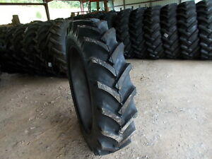 Two New 13 6 38 R1 10 Ply Tractor Tires