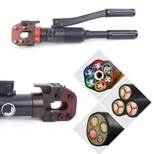 6t Hydraulic Cable Wire Rope Scissors Metal Wire Cutting Tool Bolt Cutter 4 20mm