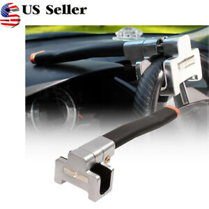 Universal Car Steering Wheel Security Lock With 2 Keys Anti theft Devices Us