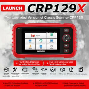 Car Obd2 Diagnostic Scanner Obdii Code Reader Auto Scan Tool Tpms Launch Crp129x