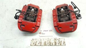 2004 2010 Porsche Cayenne S 4 5 Left Right Rear Brake Calipers Brembo 18z Oem