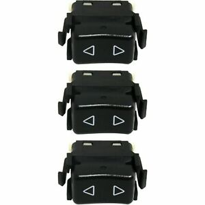 Window Switch For 86 91 Porsche 944 1 Button Set Of 3 Front Left