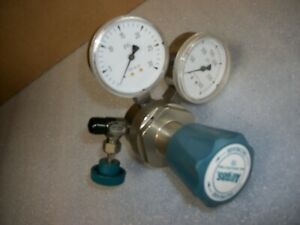 Airgas Regulator Model Y11 215a Lp Hp 3000 Psi Very Nice Unit