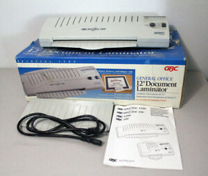 Gbc General Office Docuseal 1200 Document pouch Professional 12 Laminator