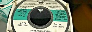 1 Pound Kester 24 7070 0039 Silver Solder 040 Dia Lead North American Made
