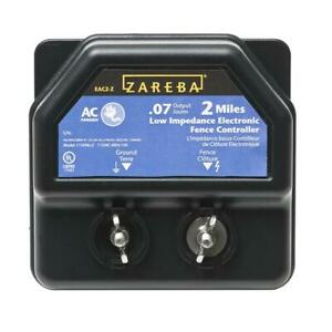 Zareba Electric Fencing 2 Mile Range Ac Line Energizer Weather Resistant Cabinet