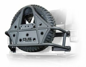 Dv8 Offroad Tire Carrier 07 18 Jeep Wrangler