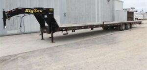 2019 Big Tex 22gn Gooseneck Trailer 40ft 2 X 10k Axles Very Low Use
