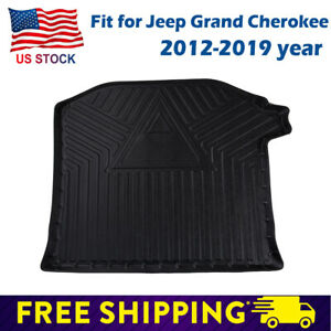 Black Car Trunk Cover Protector Rear Cargo Mat Fit Jeep Grand Cherokee 2012 2019