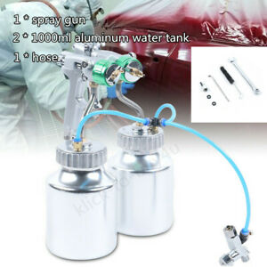Polyurethane Spray Foam Machine Gun Automatic Spray Gun W 2 Aluminum Pot