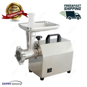 140w Commercial Electric Meat Machine Multifunction Meat Grinder Sausage Maker