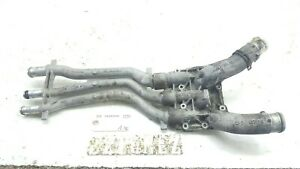 2003 2006 Porsche Cayenne Engine Thermostat Housing Coolant Pipe Line Oem