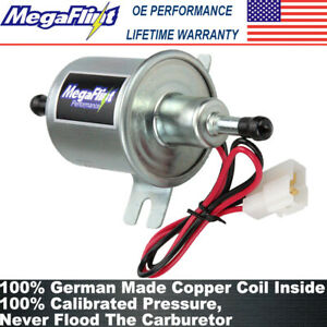 Megaflint Electric Fuel Pump Hep 02a Inline Gas Diesel 4 7psi 12v Low Pressure