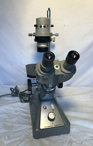 Olympus Tokyo Ck Inverted phase Contrast Microscope W 3 Objectives