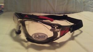 Radians Obliterator Iq Removable Foam Lined Safety Glasses Iquity Antifog Clear