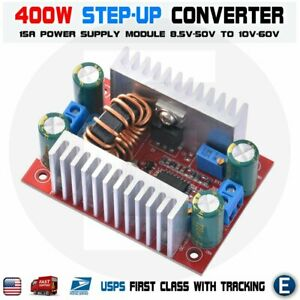 400w Dc dc Step Up Boost Buck Voltage Converter Power Supply Module 15a