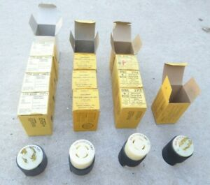 Lot Of 14 Hubbell 3431 3433 2731 2431 New 3 Phase 4 Wire 4 Phase 30a Plug