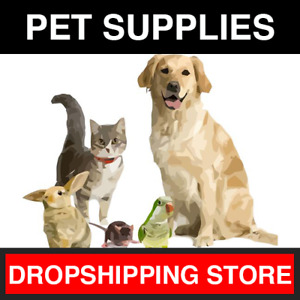 Pet Supplies Professional Dropshipping Store Established Website Business