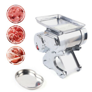 Commercial Electric Meat Slicer Meat Cutter Cutting Machine Stainless Steel 550w