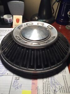 1966 Ford Fairlane 427 Dog Dish Hubcaps