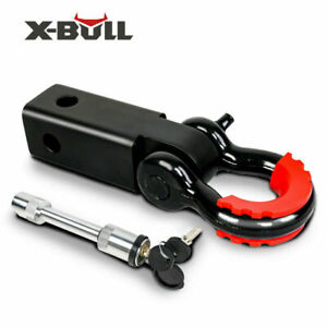 X Bull Tow Bar Hitch Receiver Receiver With Bow Shackle 5t 4x4 4wd