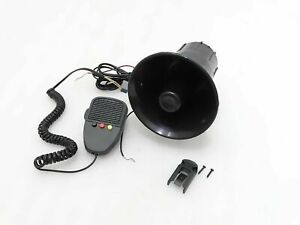 Universal Car Jeep Bus 3 Tone Electronic 12v Siren Horn g121