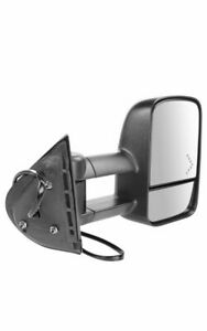 Heated Signal Telescoping Tow Mirror Right Passenger For Sierra Silverado Pickup