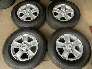 2020 Toyota Tundra Factory 18 Wheels Tires Oem Rims 75156 275 65tr18 Take Offs
