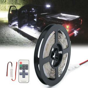 Neon Accent Rock Lights White Led Underbody Glow Under Car Kit For Ram 1500 3500