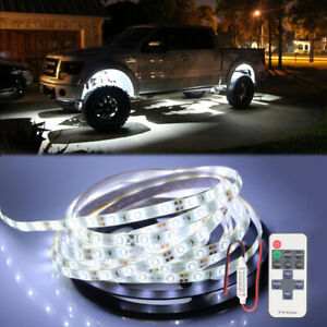 White Neon Under Car Accent Underbody Led Glow Lights For Ford F150 F250