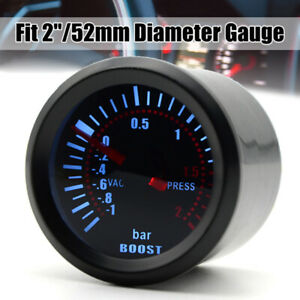 Led Display Car Turbo Boost Gauge Meter Pod Holder Hose 2 52mm Replace Parts