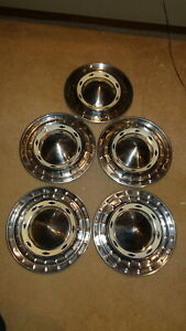 1955 Chevy Wheelcovers Set Of 5 55 Chevrolet Bel Air 210 150 Hubcaps Hub Caps