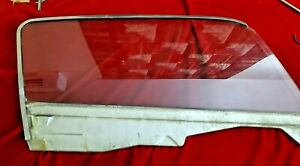 1965 1966 Mustang Fastback Door Glass Clear Passenger Oem Ford Window Nice Part