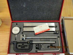Tool 830 Machine Repair Shop Tools Starrett Complete Indicator Set 0005 Dial