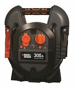 Black decker J312b Power Station Jump Starter 600 Peak 300 Instant Amps Usb Port