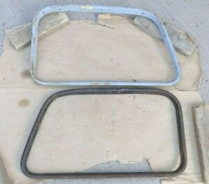 1935 Ford Truck Door Window Garnish Moldings Original Pair Interior