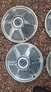 Set Of Four 1965 Mustang Hubcaps