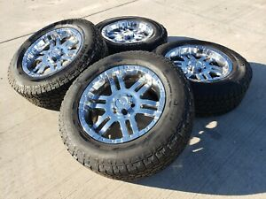 20 Moto Metal Mo951 Ford F 150 Expedition Chrome Rims Wheels Tires 6x135