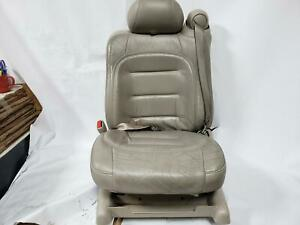 2002 Cadillac Deville Driver Left Front Power Seat Shale Leather 15i 152