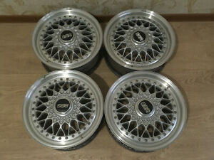4x Bbs Rs189 Original Wheels 15 4x100