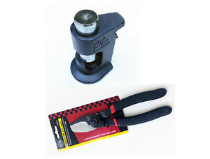 Large Gauge Hammer Crimper Tool 1 0 To 8 Gauge Awg Quality 8 Cable Cutter