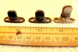 3 Antique Car Buggy Rag Top Side Curtain Hardware Lot Convertible Roadster