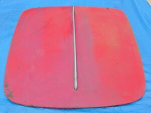 Alfa Giulietta Spider 750 101 Hood Minor Surface Rust No Dings Showcar Potential