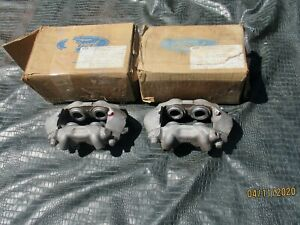 Rare Ford Nos Kelsey Hayes Front Disc Brake Calipers For A 65 66 Mustang 289 Hp