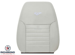 1999 2004 Ford Mustang Gt V8 Driver Side Lean Back Leather Seat Cover White