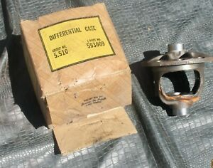 1937 1953 Chevrolet Passenger Nos Rear Axle Differential Case 593009 49 50 51 52