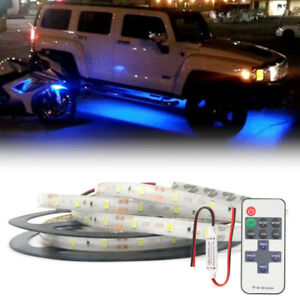 Neon Accent Rock Lights Blue Led Underbody Glow Under Car Kit For Ram 1500 3500