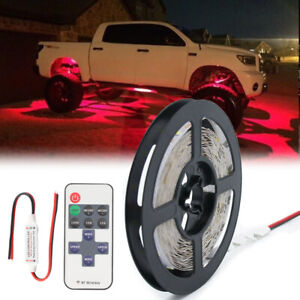 Red Neon Under Car Accent Underbody Led Glow Rock Lights For Ford F150 F250